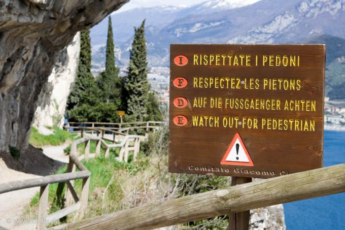 Gardasee – Radtour von Arco nach Biacesa