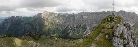 Panorama Entschenkopf