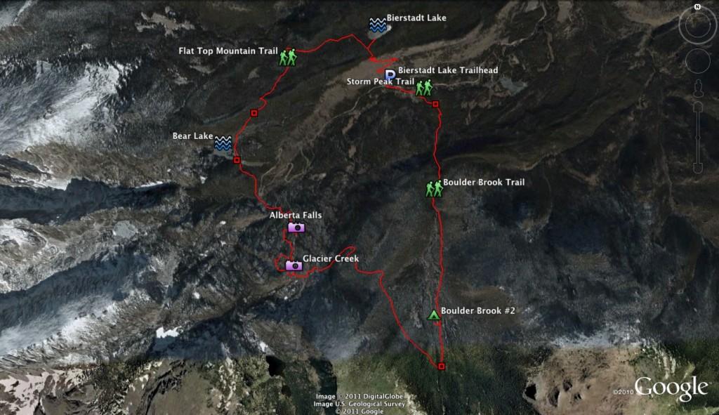 Boulder Brook Karte