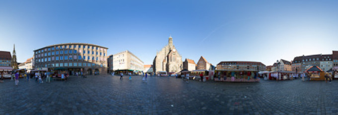 Hauptmarkt Nürnberg – Kugelpanorama