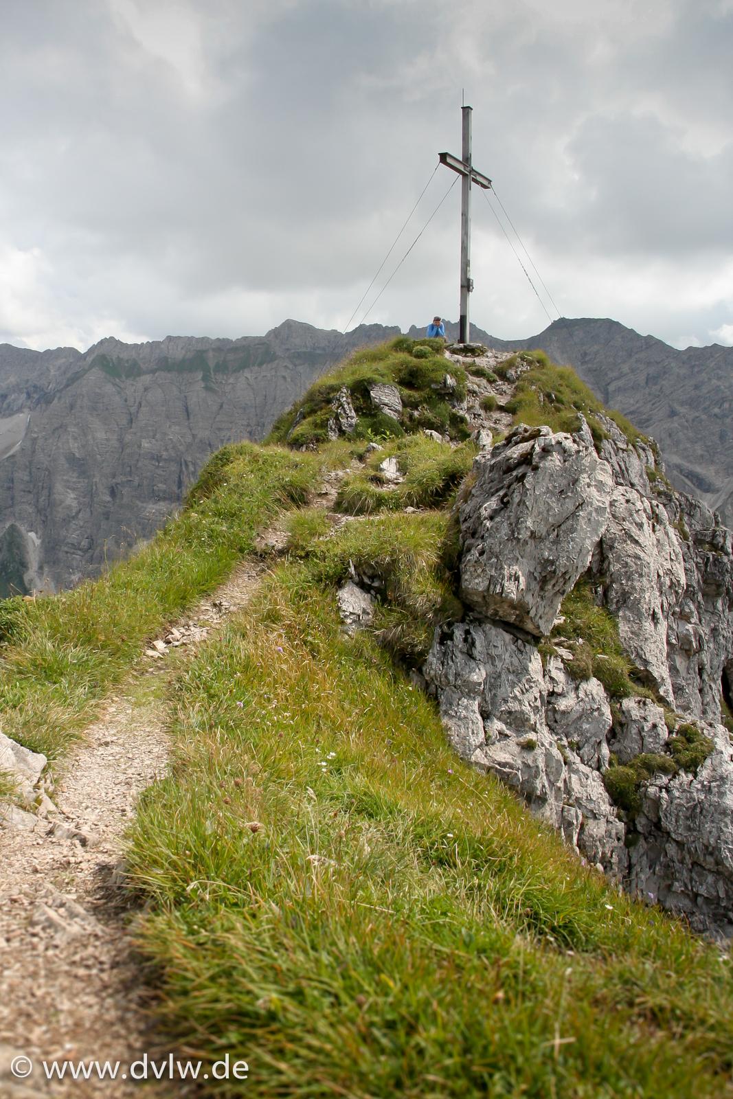 Entschenkopf Gipfelkreuz