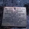 Tafel des Via Feratta Mario Foletti