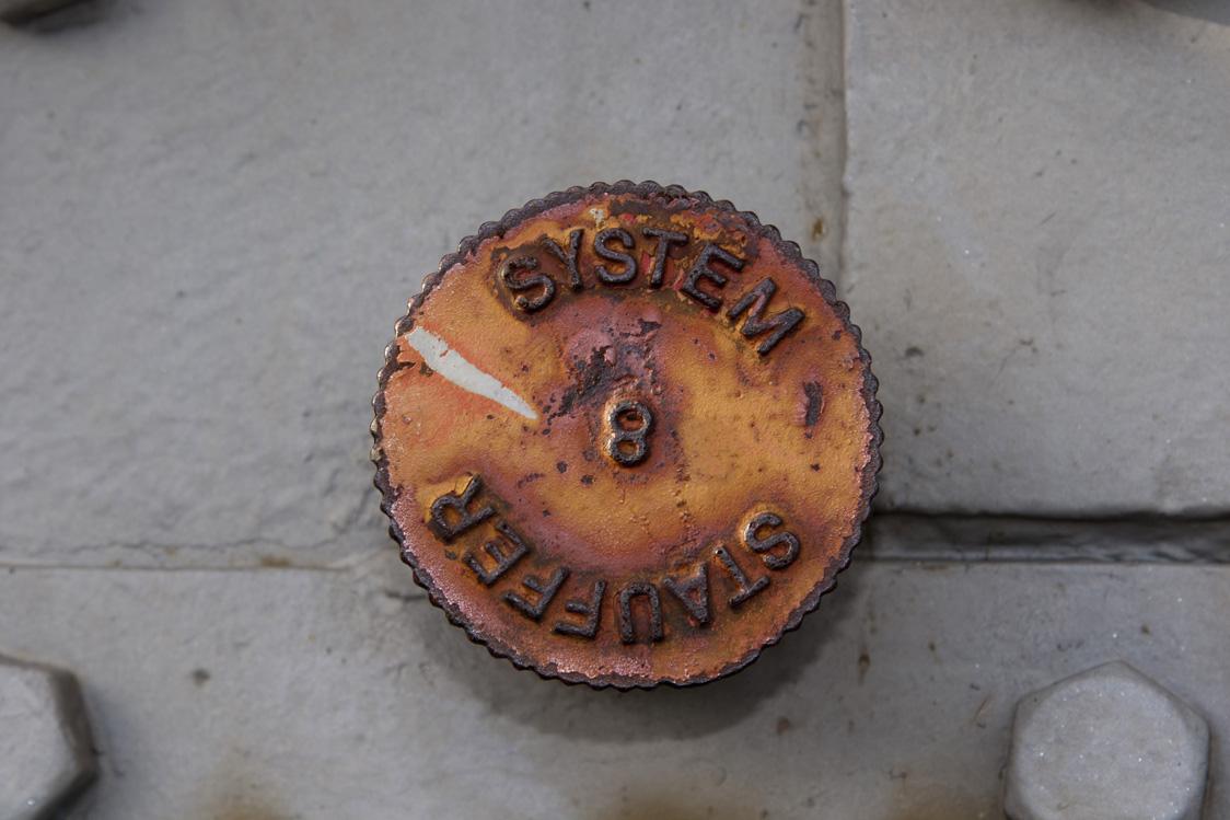 Am Osthafen - Details Kran