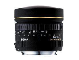 Sigma 8mm F3.5 EX DG Fisheye