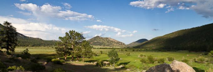 Rocky Mountains – Moraine Park Campground und Cub Lake