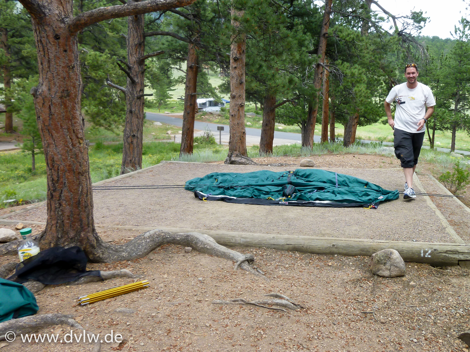 Rocky Mountains - Moraine Park Campground A012