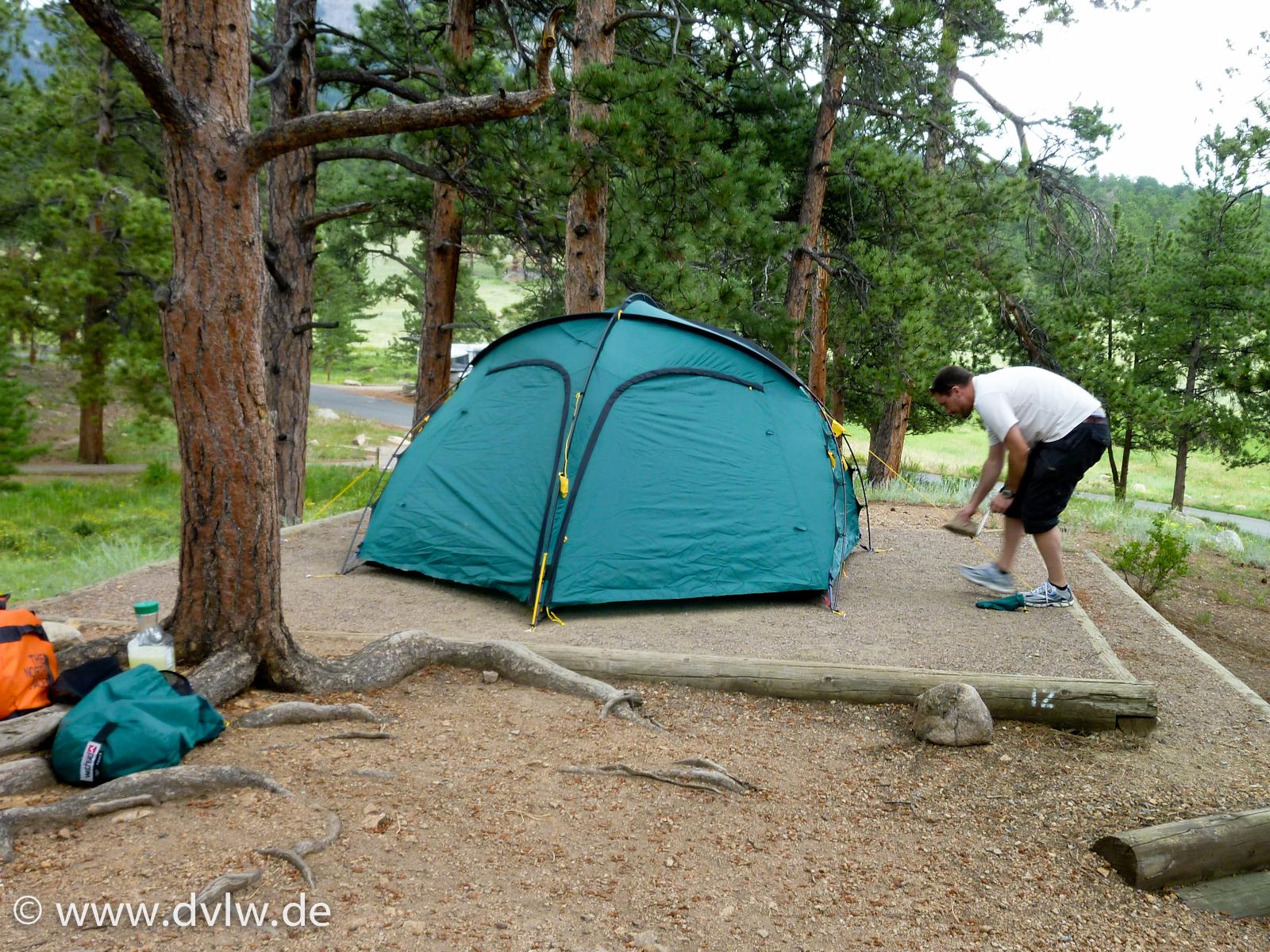 Rocky Mountains - Moraine Park Campground