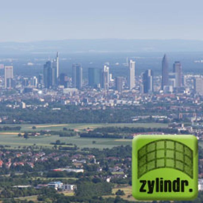 Falkenstein Rhein-Main Gebiet – Zylinderpanorama