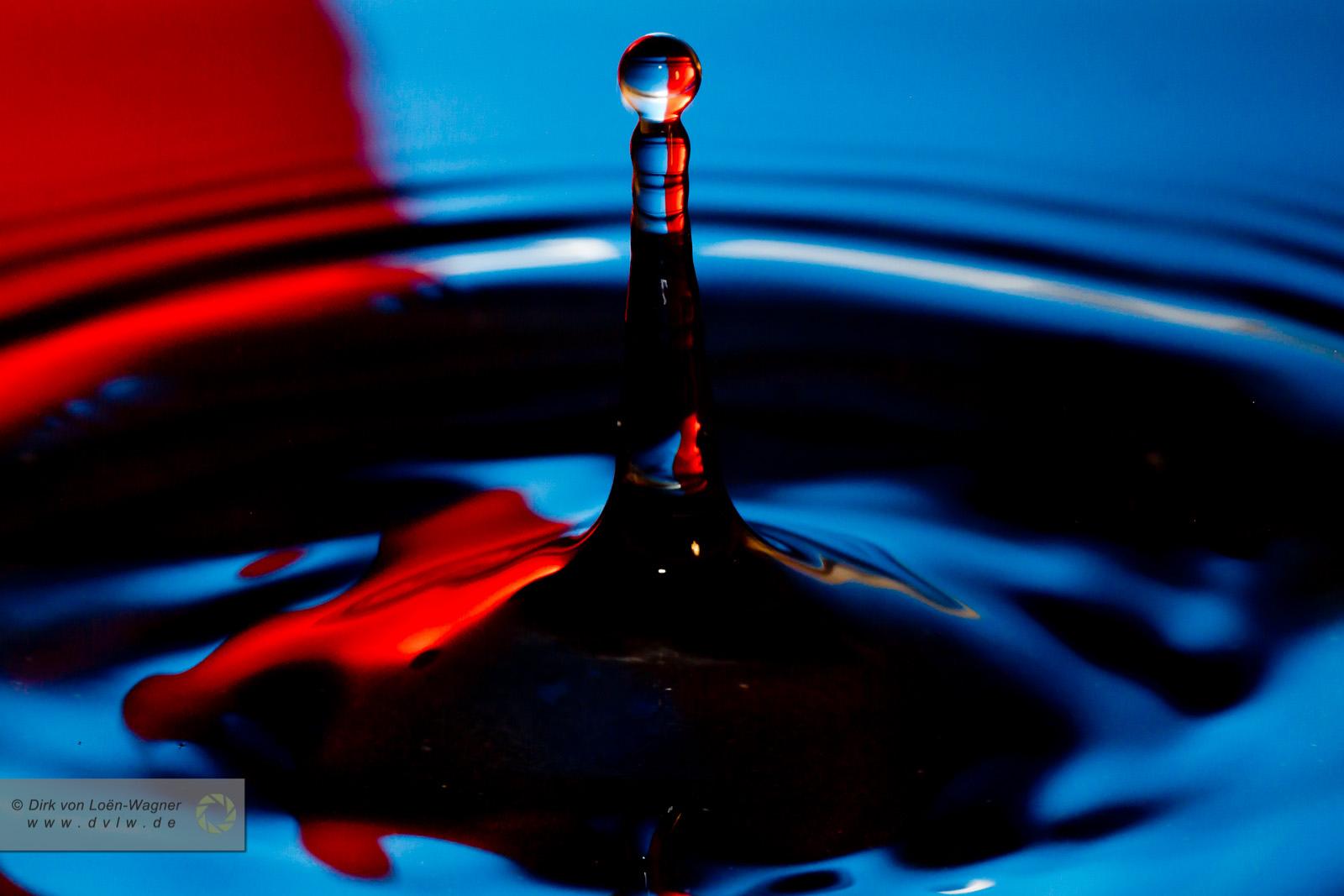 Splash 1 - Red & blue