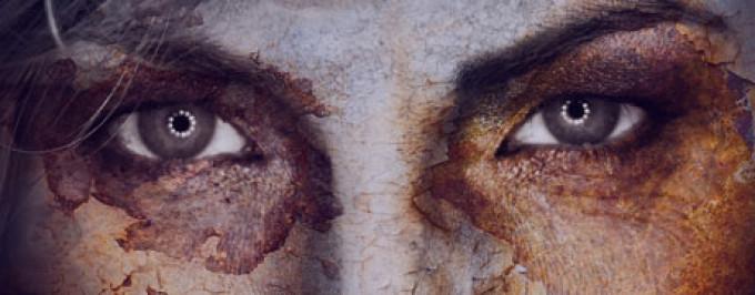 Dark Art – Cracked Face