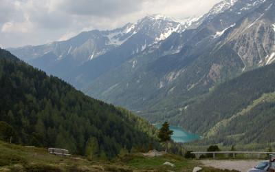 Staller Sattel mit Blick auf den Antholzer See
