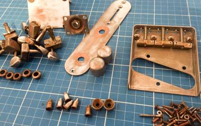 Relic-Hardware nach dem Bearbeiten