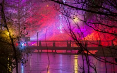Brücke am Bootsweiher