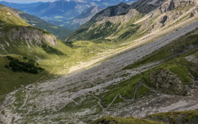 Tag 1 - Anstieg zur Fiderepasshütte
