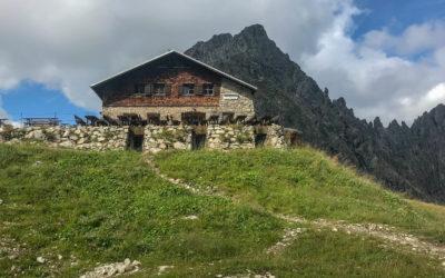 Tag 1 - Fiderepasshütte
