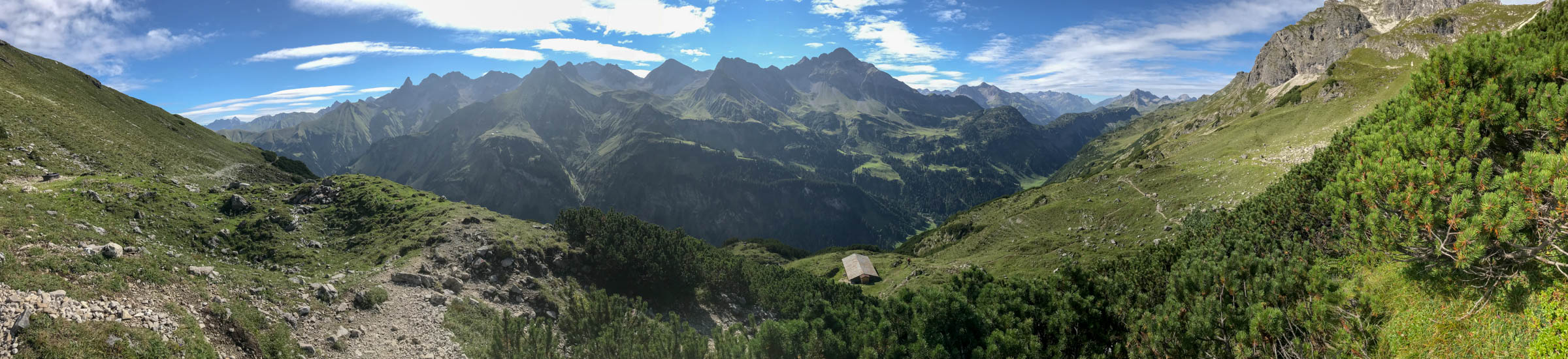 Tag 2 - Krumbacher Höhenweg
