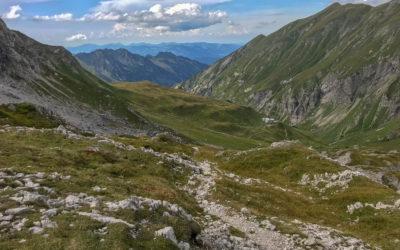 Tag 4 - Kemptner Hütte in Sicht